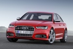2018 Audi S6 Premium Plus quattro Sedan in Misano Red Pearl Effect - Static Front Left View