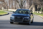 2018 Audi A6 2.0T quattro Sedan in Moonlight Blue Metallic - Driving Front Left View