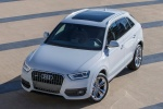 2015 Audi Q3 2.0T in Cortina White - Static Front Left Top View