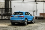 2019 Audi Q3 45 quattro in Turbo Blue - Static Rear Right View