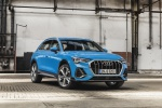 2019 Audi Q3 45 quattro in Turbo Blue - Static Front Right View