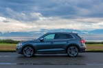 2019 Audi SQ5 quattro in Daytona Gray Pearl Effect - Static Left Side View