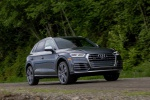 2019 Audi SQ5 quattro in Daytona Gray Pearl Effect - Driving Front Right View