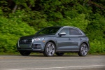 2019 Audi SQ5 quattro in Daytona Gray Pearl Effect - Driving Front Left Three-quarter View