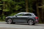 2019 Audi SQ5 quattro in Daytona Gray Pearl Effect - Driving Side View