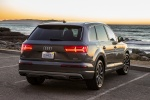 2017 Audi Q7 3.0T quattro in Graphite Gray Metallic - Static Rear Right View