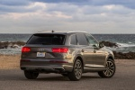 2017 Audi Q7 3.0T quattro in Graphite Gray Metallic - Static Rear Right Three-quarter View