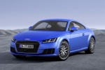 2017 Audi TT Coupe in Scuba Blue Metallic - Static Front Left View
