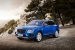 2018 Bentley Bentayga in Blue Sequin Metallic - Static Front Left Three-quarter View