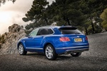 2018 Bentley Bentayga in Blue Sequin Metallic - Static Rear Left Three-quarter View
