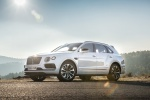 2018 Bentley Bentayga in Glacier White - Static Front Left Three-quarter View