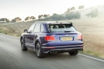 2018 Bentley Bentayga in Blue Sequin Metallic - Driving Rear Left View