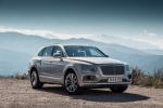 2018 Bentley Bentayga in Silver Storm Metallic - Static Front Right View