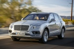 2018 Bentley Bentayga in Silver Storm Metallic - Driving Front Left View