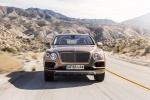 2018 Bentley Bentayga in Amber Metallic - Driving Frontal View