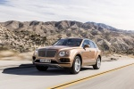 2018 Bentley Bentayga in Amber Metallic - Driving Front Left Three-quarter View