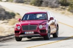 2018 Bentley Bentayga in Rubino Red Metallic - Driving Front Left View