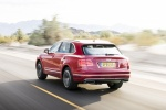 2018 Bentley Bentayga in Rubino Red Metallic - Driving Rear Left View