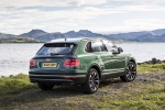 2018 Bentley Bentayga in British Racing Green 4 Metallic - Static Rear Right Three-quarter View