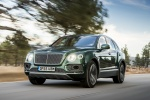 2018 Bentley Bentayga in British Racing Green 4 Metallic - Driving Front Left View