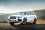 2019 Bentley Bentayga in Glacier White - Static Front Left View