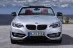 2016 BMW 228i Convertible in Glacier Silver Metallic - Static Frontal View