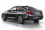 2015 BMW 435i Coupe in Mineral Gray Metallic - Static Rear Left Three-quarter View