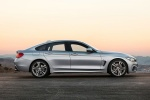 2015 BMW 435i Gran Coupe in Glacier Silver Metallic - Static Side View