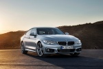 2015 BMW 435i Gran Coupe in Glacier Silver Metallic - Static Front Right View