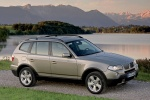2010 BMW X3 xDrive30i in Space Gray Metallic - Static Front Right Three-quarter View