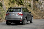 2010 BMW X3 xDrive30i in Space Gray Metallic - Driving Rear Right View
