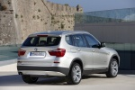 2011 BMW X3 xDrive35i in Mineral Silver Metallic - Static Rear Right View