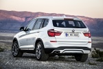 2015 BMW X3 in Mineral White Metallic - Static Rear Left View
