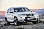 2016 BMW X3 in Mineral White Metallic - Static Front Right View