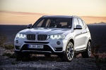 2017 BMW X3 in Mineral White Metallic - Static Front Left View