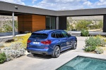 2019 BMW X3 M40i in Phytonic Blue Metallic - Static Rear Right View