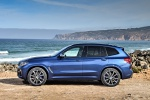 2019 BMW X3 M40i in Phytonic Blue Metallic - Static Left Side View