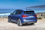 2019 BMW X3 M40i in Phytonic Blue Metallic - Static Rear Left View