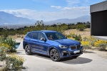 2019 BMW X3 M40i in Phytonic Blue Metallic - Static Front Right Three-quarter View