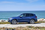 2019 BMW X3 M40i in Phytonic Blue Metallic - Driving Left Side View