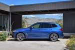 2019 BMW X3 M40i in Phytonic Blue Metallic - Static Side View
