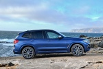 2019 BMW X3 M40i in Phytonic Blue Metallic - Static Right Side View