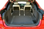 2018 BMW X4 Trunk with seats folded