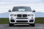 2018 BMW X4 M40i in Mineral White Metallic - Static Frontal View