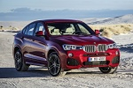 2018 BMW X4 in Melbourne Red Metallic - Static Front Right View