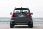 2013 BMW X5 xDrive50i in Sparkling Bronze Metallic - Static Rear View