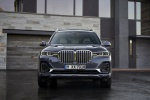 2019 BMW X7 xDrive40i AWD in Arctic Gray Metallic - Static Frontal View