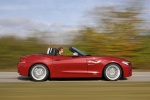 2011 BMW Z4 sdrive35is in Crimson Red - Driving Right Side View