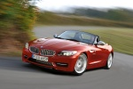 2014 BMW Z4 sdrive35is in Crimson Red - Driving Front Left Three-quarter View