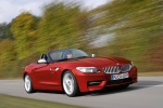 2015 BMW Z4 sdrive35is in Crimson Red - Driving Front Right Three-quarter View